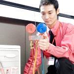 エアコン(クーラー)ガス補充